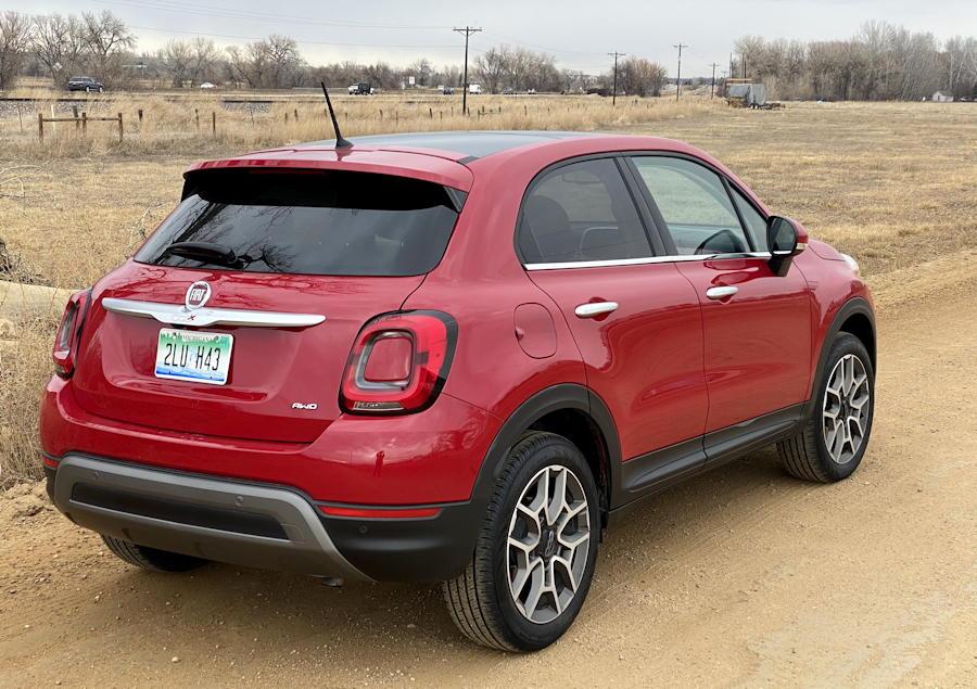 2019 fiat 500x -  exterior rear