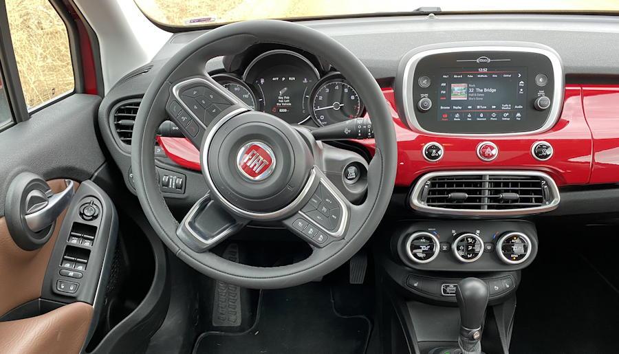 2019 fiat 500x dashboard