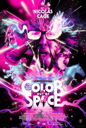 color out of space 2019 movie poster one sheet