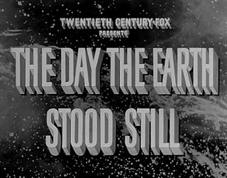 The Day The Earth Stood Still 1951 film movie review