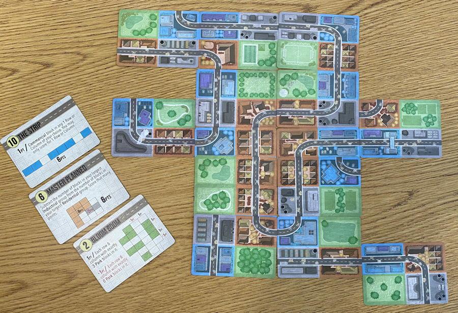 button shy sprawlopolis game review - end game 1