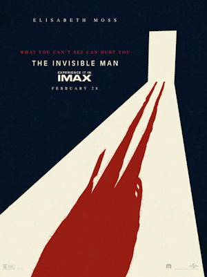 the invisible man 2020 movie poster one sheet
