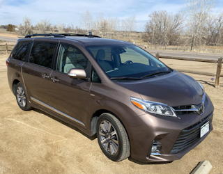 2020 toyota sienna ltd awd minivan review driving experience