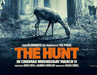 the hunt 2020 swank blumhouse film movie review