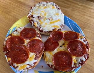 einstein bros bagels take and make pizza bagel kit