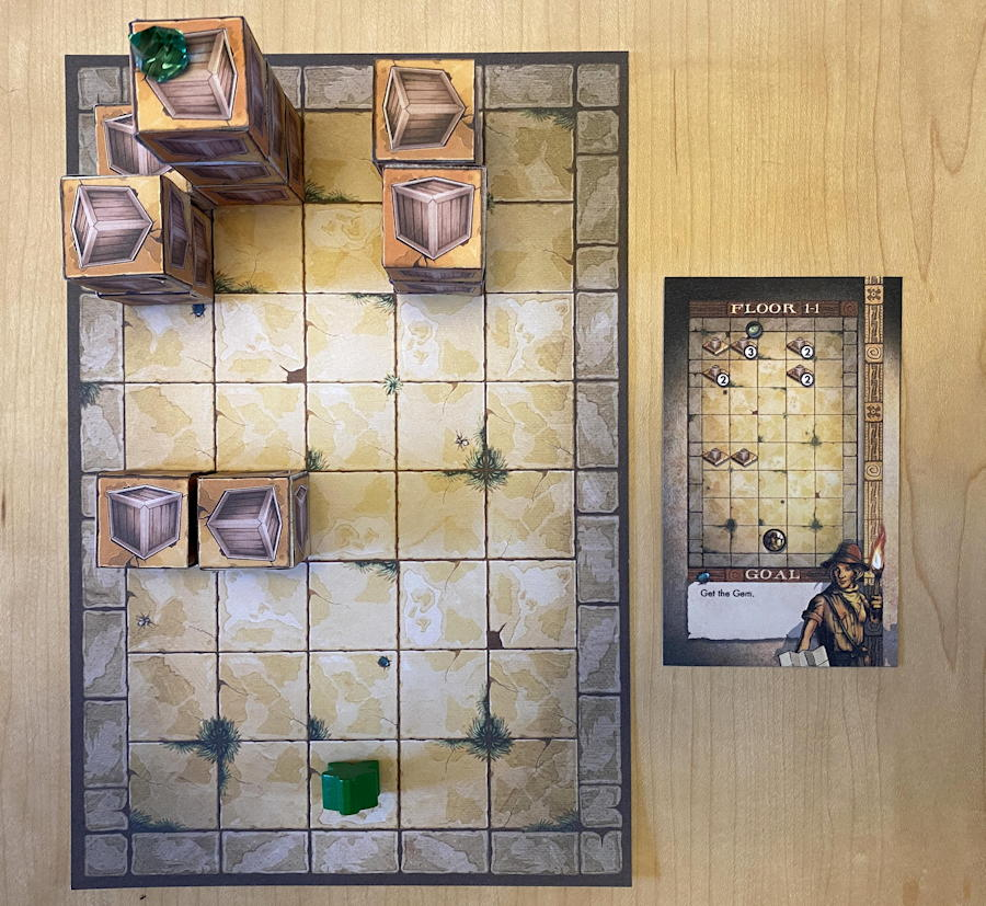 relics of rajavihara puzzle game - level 1-1