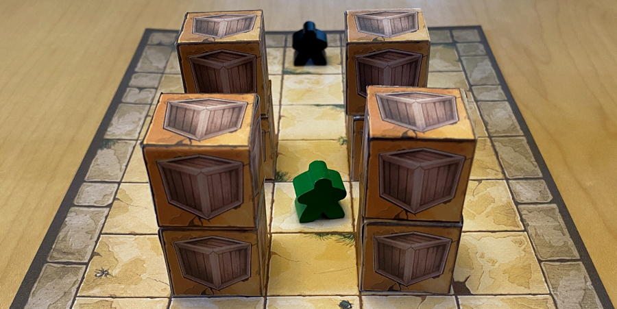 relics of rajavihara puzzle game - floor 1