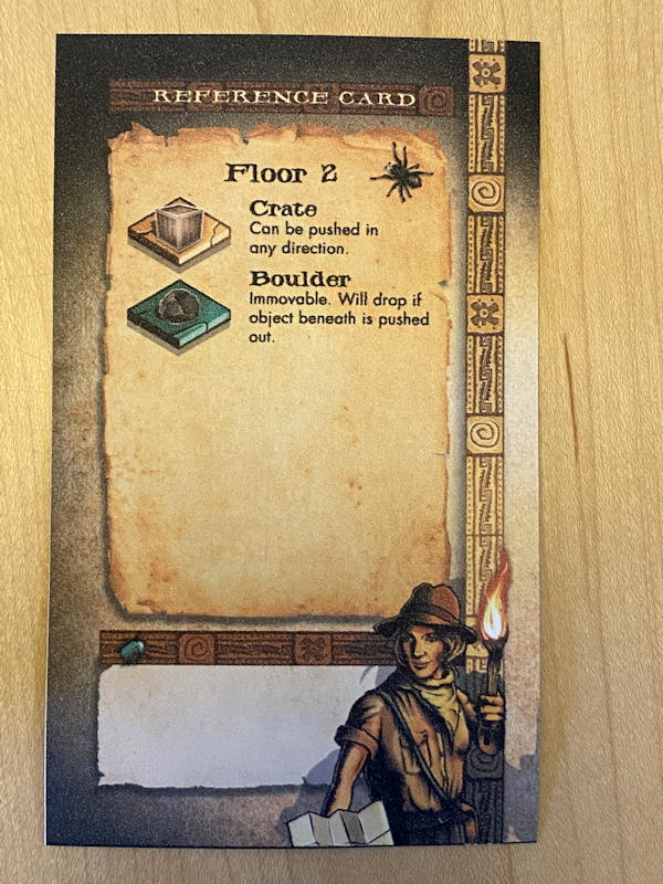 relics of rajavihara puzzle game - reference card floor 2