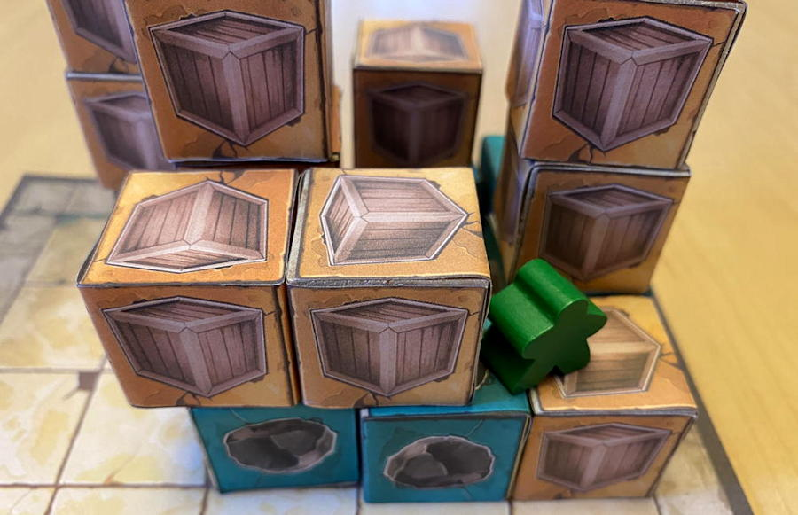 relics of rajavihara puzzle game - illegal move