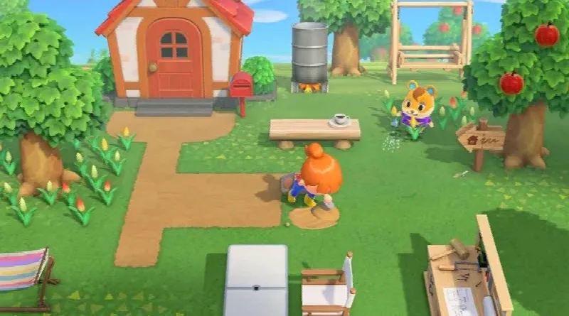 animal crossing new horizons - demo screen