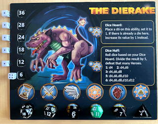 die in the dungeon board game review crawler