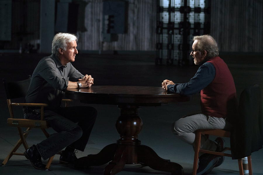 james cameron interview steven spielberg -- story of science fiction