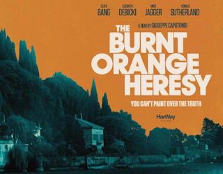 the burnt orange heresy - film review