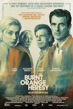 the burnt orange heresy movie poster one sheet