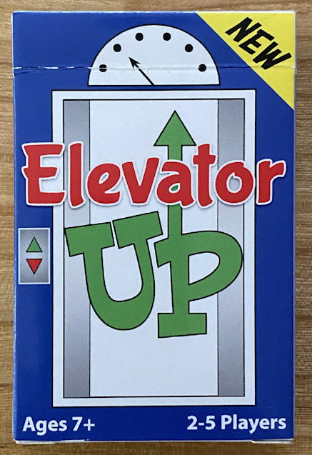 elevator up game card box