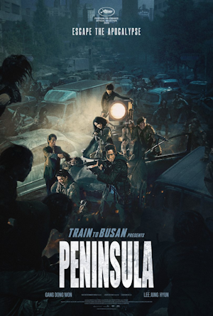 train to busan 2 presents - peninsula - movie poster one sheet