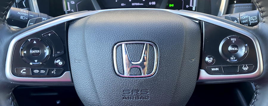 2020 honda crv hybrid trg - steering wheel controls