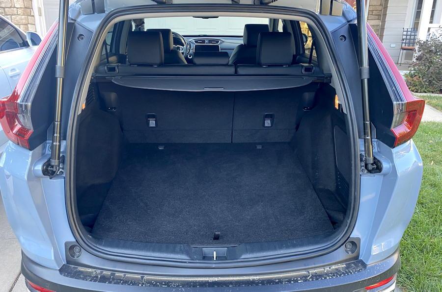 2020 honda crv hybrid trg - rear interior cargo