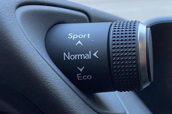 2020 lexus ux 250h f sport - drive mode selector