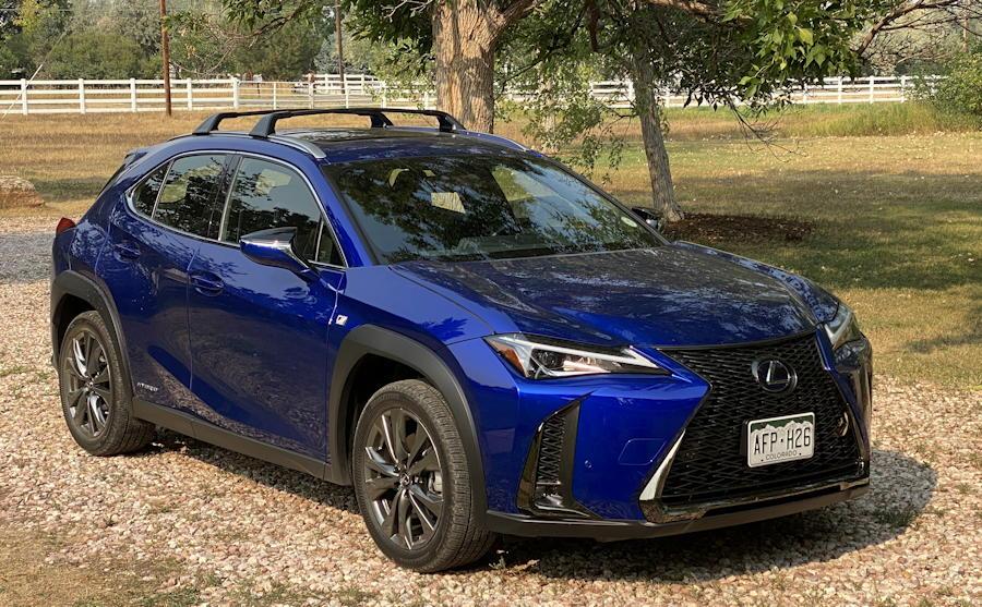 2020 lexus ux 250h f sport - exterior