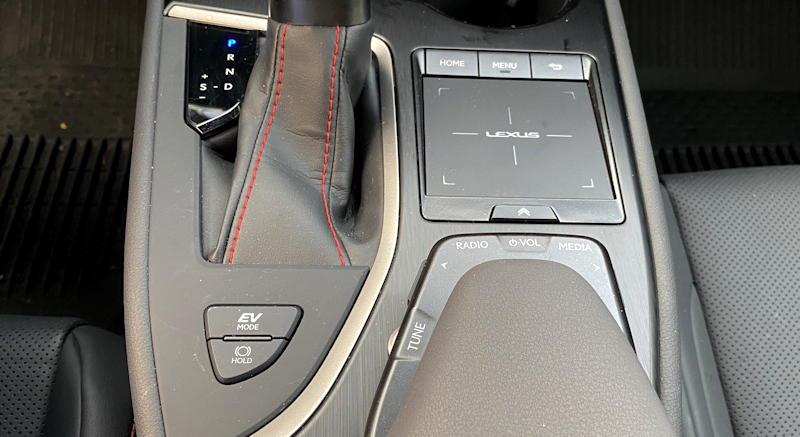 2020 lexus ux 250h f sport - center armrest controls