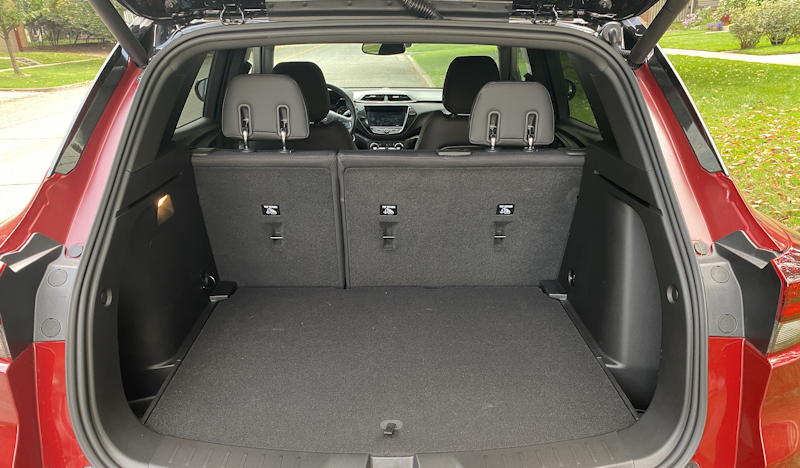 2021 chevrolet chevy blazer awd - rear cargo space