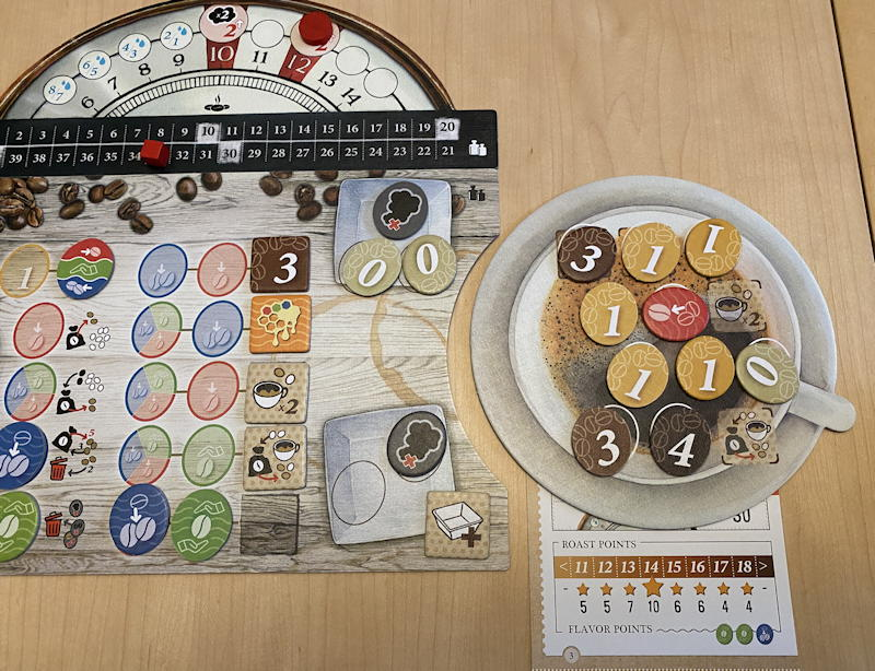 coffee roaster game - altura oaxaca tokens