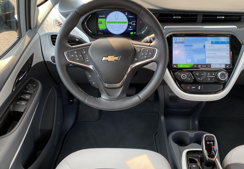 2020 chevy bolt ev premium - driver's area dash design