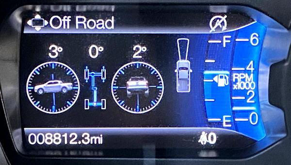 2020 ford ranger lariat - 4x4 offroad gauges sensors