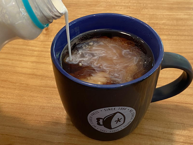 hot blonde coffee vodka cream cask kettle keurig