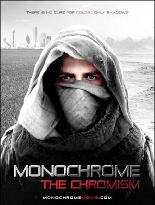 monochrome: the chromism movie poster one sheet 2020