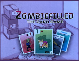 zombiefilled family card game - review