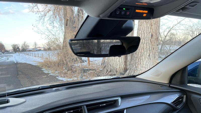 2020 buick encore gx - too small rear view mirror