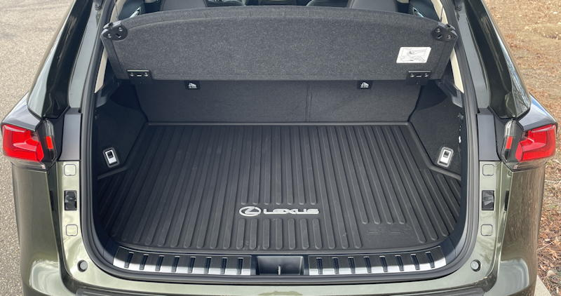2021 lexus nx 300h luxury - rear hatch