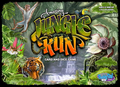 amazing jungle run game box