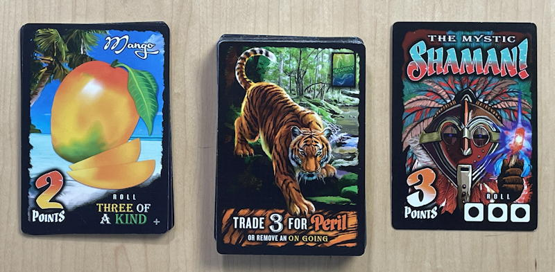 amazing jungle run game - basic cards