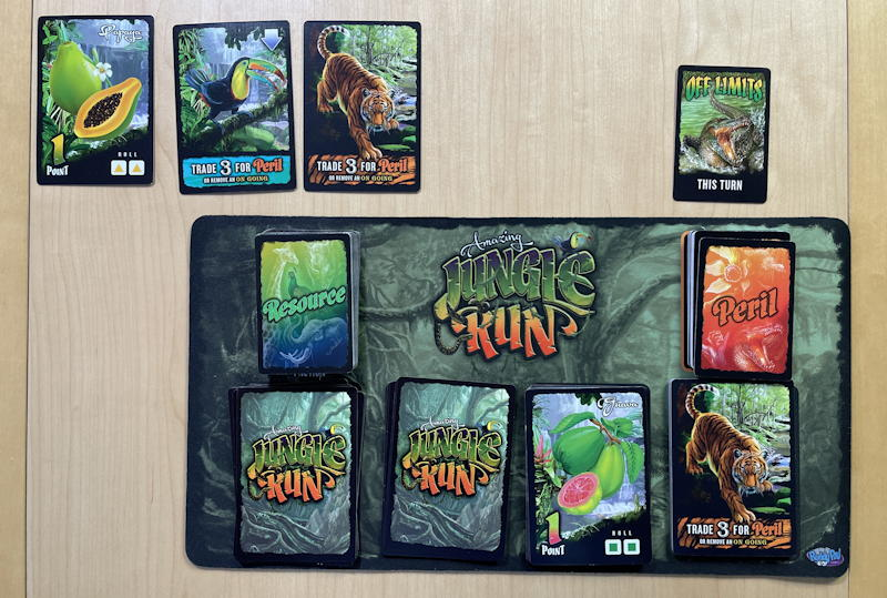 amazing jungle run game - solo play first move