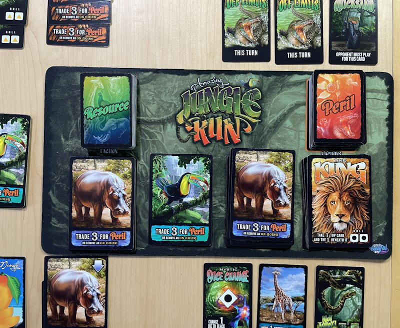 amazing jungle run game - later game