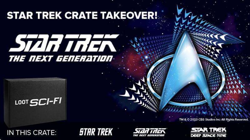 loot crate sci-fi star trek