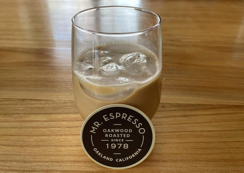 mr espresso steeped coffee bag - iced coffee
