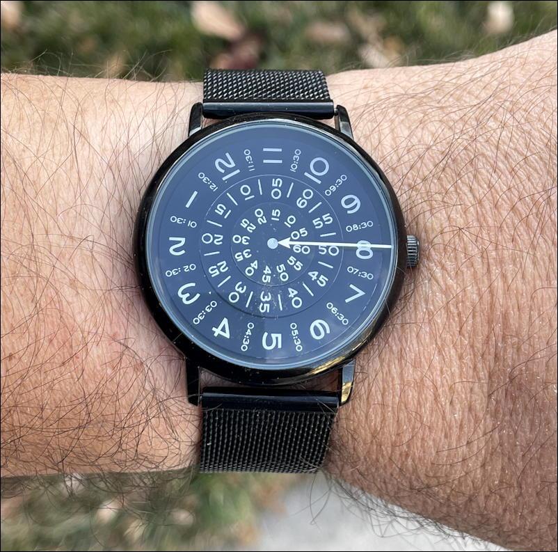 seizmont ambitio watch - on wrist