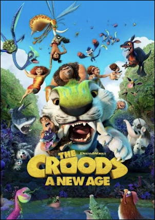 the croods 2 a new age movie poster one sheet
