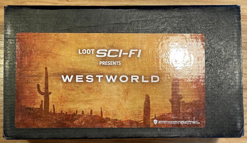 loot crate sci-fi westworld box