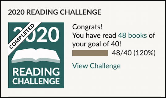 dave taylor goodreads reading challenge 2020