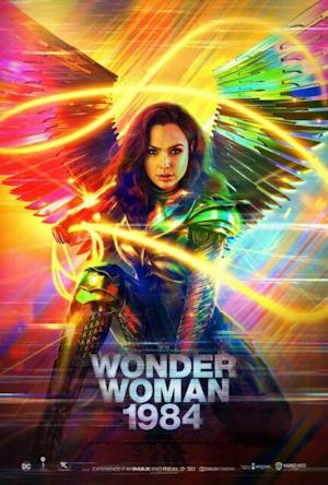 wonder woman 1984 one sheet movie poster