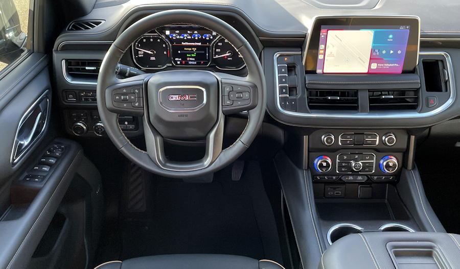2021 GMC Yukon 4WD AT4 interior dash