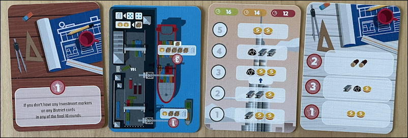 micro city by thistroy games - ks kickstarter expansion cards