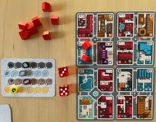 game review: micro city from thistroy games solo