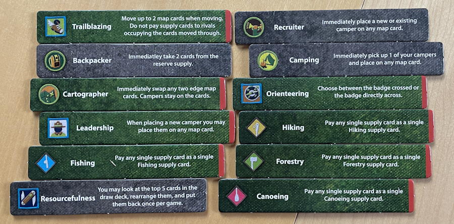 camp pinetop solo play game review - achievement patches