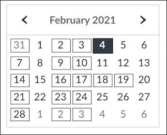 busy academic calendar
